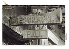 Preservation Hall, French Quarter, New Orleans, Louisiana Carry-all Pouch