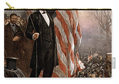 President Abraham Lincoln Giving A Speech Carry-all Pouch by War Is Hell Store