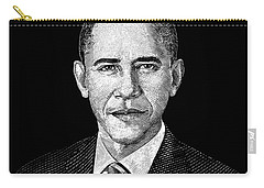 President Barack Obama Graphic Carry-all Pouch