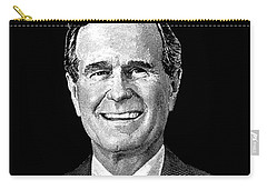President George H. W. Bush Graphic Carry-all Pouch