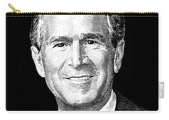 President George W. Bush Graphic Carry-all Pouch by War Is Hell Store