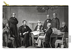 President Lincoln And His Cabinet Carry-all Pouch by War Is Hell Store
