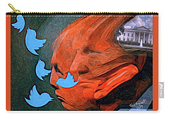 President Of Twitter Carry-all Pouch