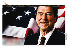 President Ronald Reagan Carry-all Pouch by Gull G