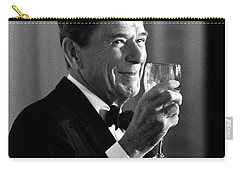President Reagan Making A Toast Carry-all Pouch by War Is Hell Store