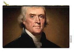 Thomas Jefferson Carry-All Pouches