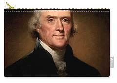 Thomas Jefferson Carry-All Pouches