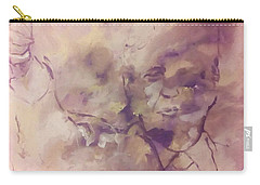 Carry-all Pouch featuring the painting President Trump by Raymond Doward