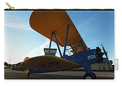 Preston's Boeing Stearman 000 Carry-all Pouch by Chris Mercer