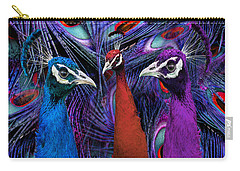 Pretty As A Peacock Carry-all Pouch