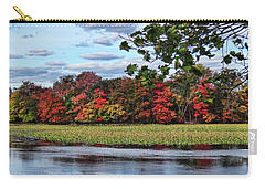 Pretty Autumn Scene Carry-all Pouch by Mikki Cucuzzo
