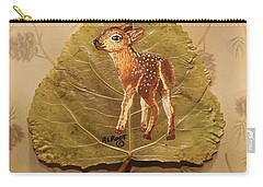 Pretty Baby Deer Carry-all Pouch