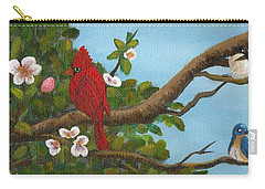 Pretty Birds Carry-all Pouch