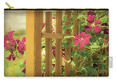 Pretty Flower Garden Carry-all Pouch