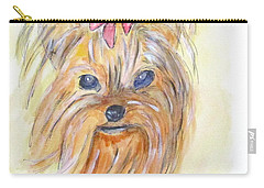 Pretty Girl Carry-all Pouch by Clyde J Kell