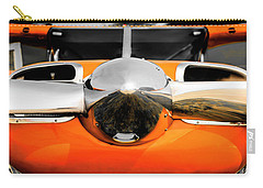 Pretty In Orange Carry-all Pouch