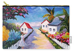 Pretty In Paradise Carry-all Pouch