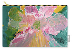 Pretty In Pastels Carry-all Pouch by Karen Nicholson