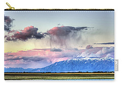 Carry-all Pouch featuring the photograph Pretty In Pink by Bryan Carter