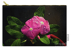 Carry-all Pouch featuring the photograph Pretty In Pink by Douglas Stucky