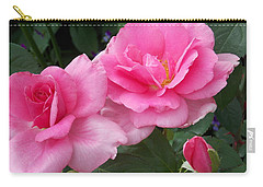 Pretty In Pink Duo Carry-all Pouch by Catherine Gagne