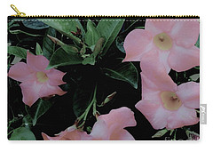 Pretty In Pink Flowers Carry-all Pouch