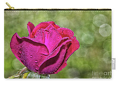 Pretty In Pink Carry-all Pouch by Laurinda Bowling
