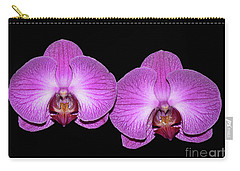 Pretty In Pink Phalaenopsis Orchids Carry-all Pouch
