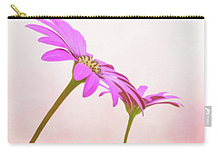Pretty In Pink Carry-all Pouch by Roy McPeak