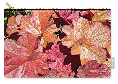 Carry-all Pouch featuring the photograph Pretty Leaves by Stephanie Moore