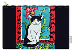 Pretty Me In Tuxedo Carry-all Pouch