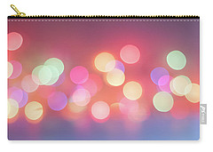 Pretty Pastels Abstract Carry-all Pouch by Terry DeLuco