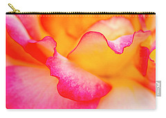 Pretty Petal Curves Carry-all Pouch by Teri Virbickis