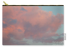 Carry-all Pouch featuring the photograph Pretty Pink Clouds by Ana V Ramirez