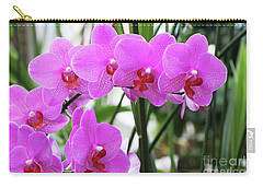 Pretty Pink Phalaenopsis Orchids #2 Carry-all Pouch