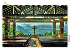 Pretty Place Chapel The Son Has Risen Carry-all Pouch by Reid Callaway
