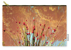 Carry-all Pouch featuring the photograph Pretty Pond Weeds by Ellen Barron O'Reilly