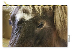 Pretty Pony Carry-all Pouch by Suzanne Luft