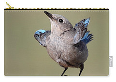 Pretty Pose Carry-all Pouch by Shane Bechler