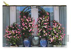 Pretty Pots In Pink Carry-all Pouch