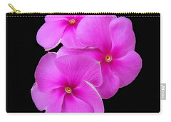 Pretty Purple Triplets Carry-all Pouch