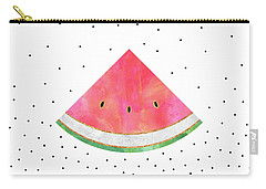 Pretty Watermelon Carry-all Pouch by Elisabeth Fredriksson