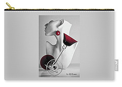 Carry-all Pouch featuring the photograph Pretty Woman 3 by Elf Evans