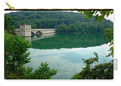 Prettyboy Reservoir Dam Carry-all Pouch by Mark Dodd