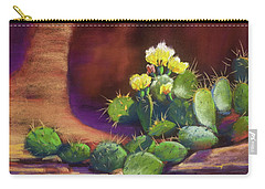 Pricklies On A Ledge Carry-all Pouch