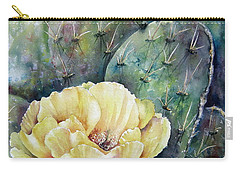 Prickly Blossom Carry-all Pouch