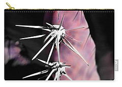 Prickly In Pink Carry-all Pouch