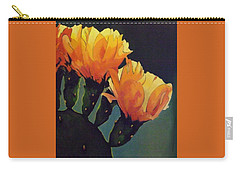Prickly Pear Blooming Carry-all Pouch