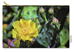 Prickly Pear Cactus Flower On Assateague Island Carry-all Pouch