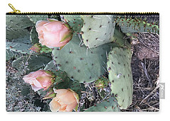 Prickly Pear Carry-all Pouch by Erika Chamberlin